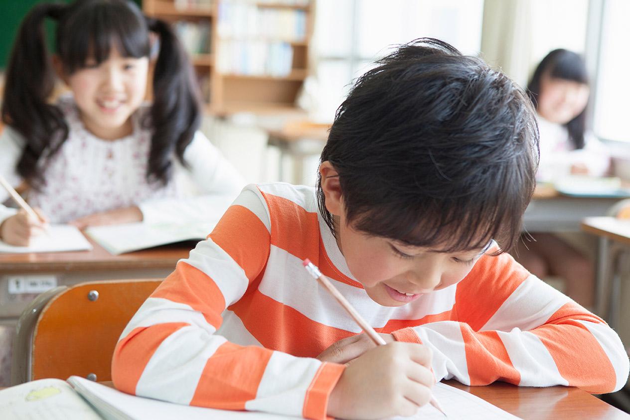 子供の学習の様子