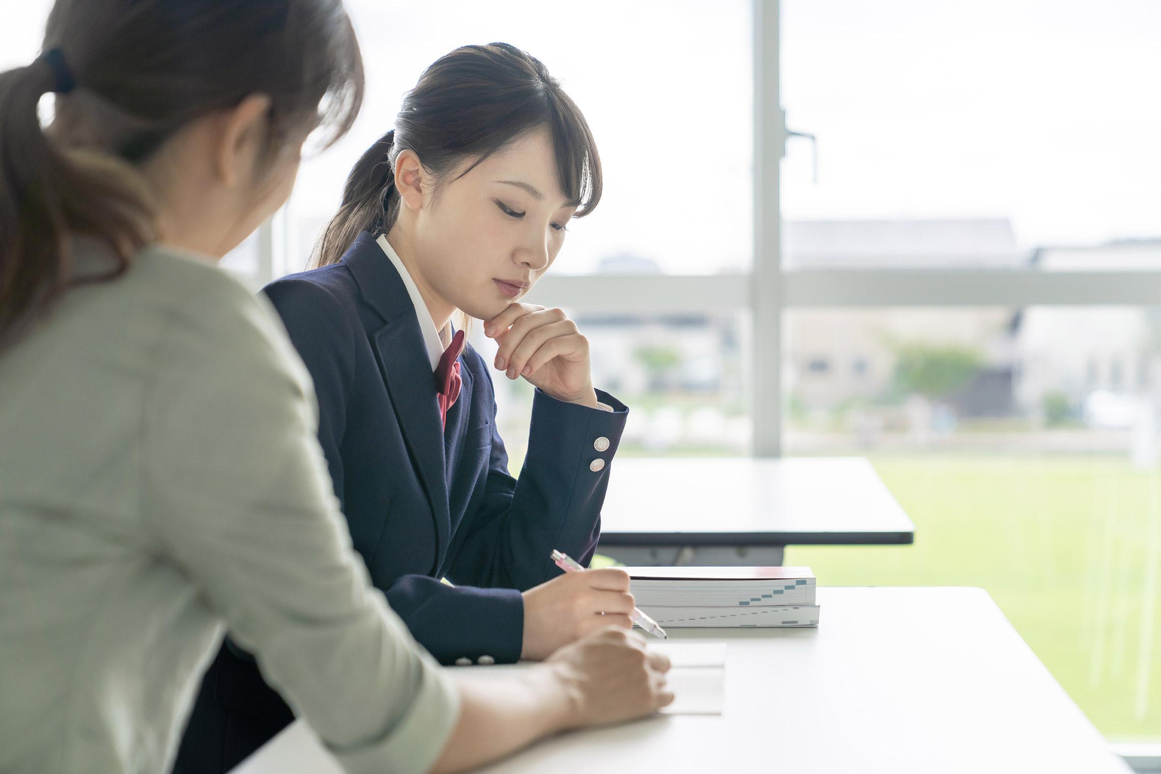 学生のテスト対策指導